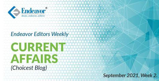 Current Affairs Choiciest Blogs September week 2